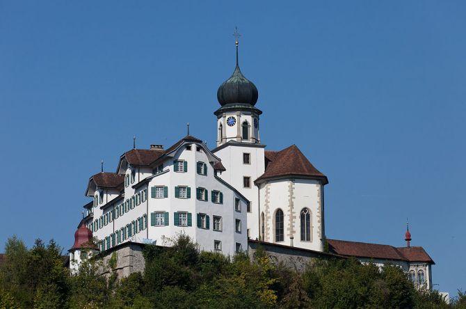 Wallfahrtskirche und Kloster in Werthenstein