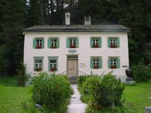 Nietzsche Haus Sils Maria