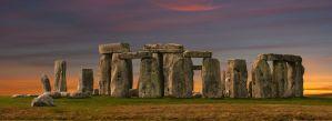 Kraftplatz Stonehenge England