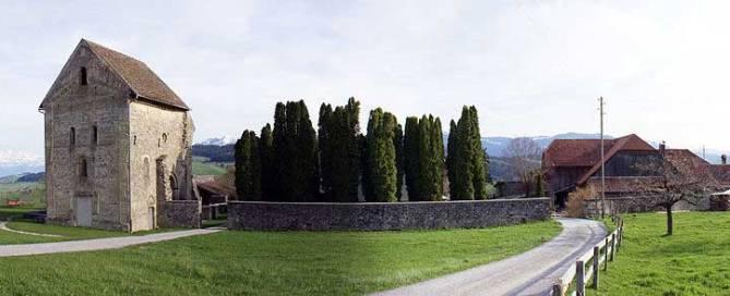 Cluniazenserpriorat Rüeggisberg by Sandstein (Own work) , via Wikimedia Commons