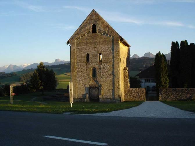 Klosterruine Rüeggisberg im Kanton Bern