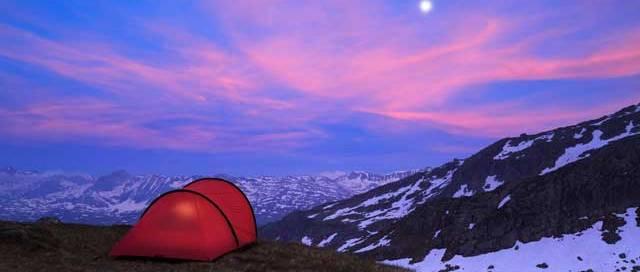 Backpacking in Switzerland