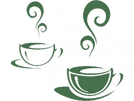 sticker tasses cafe