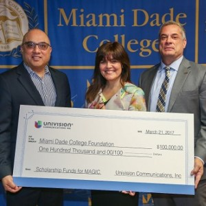 "Univision Sparks ""M.A.G.I.C."" Partnership with Miami Dade College"