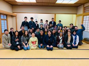 MAGIC students travel to Japan with the KAKEHASHI Inouye Program