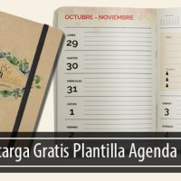 Plantilla Editable Gratis Agenda Diaria 2018