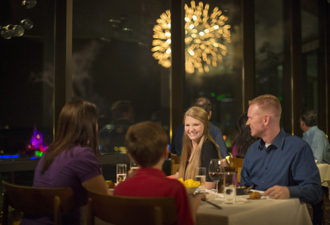 View from the table at California Grill - Photo by Kent Phillips / Disney