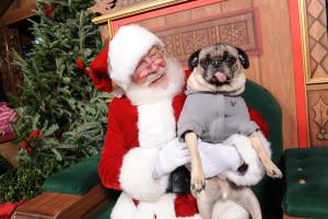 Santa in Downtown Disney