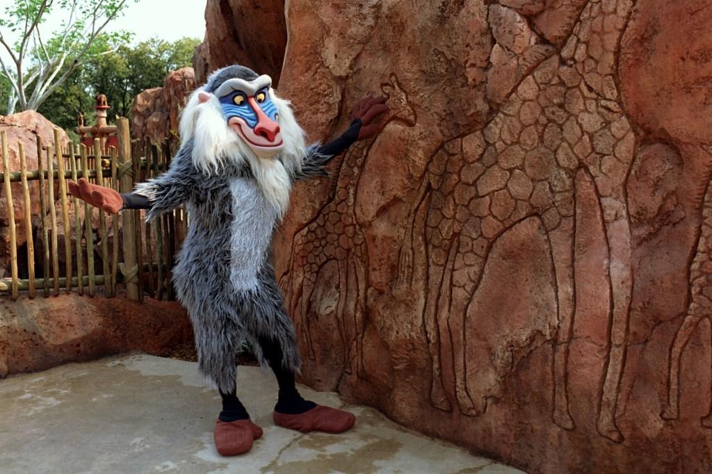 Hidden Mickey on Arusha Rock at Disney's Animal Kingdom Lodge. Photo by Disney