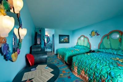 Interior of The Little Mermaid standard rooms