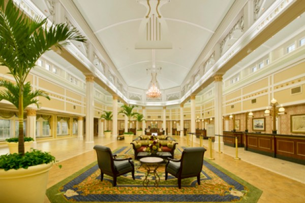 Disney's Port Orleans Riverside Resort Main Lobby - Photo by Disney