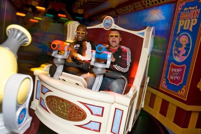 Toy Story Midway Mania  Photo by Matt Stroshane / Disney