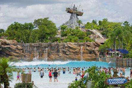 Disney's Typhoon Lagoon. Photo by Disney