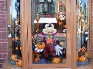 Window displays on Main Street