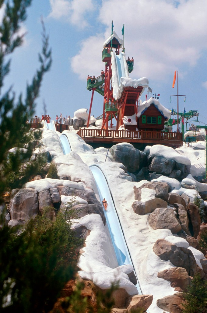 water slide - wdw
