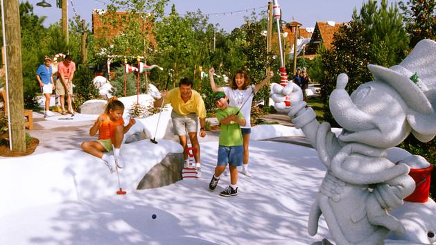 Winter Summerland Golf - Photo by Disney