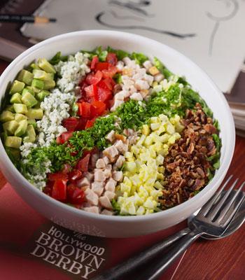 The famous Brown Derby Cobb Salad