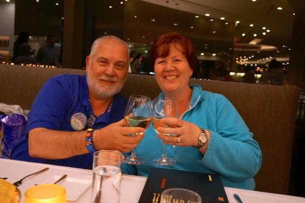 Dinner at California Grill at Disney's Contemporary Resort