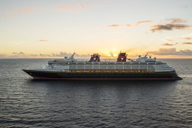 The Disney Magic at Sea- Photographer Matt Stroshane / Disney Parks