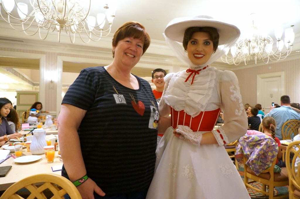Mary Spina meets Mary Poppins!