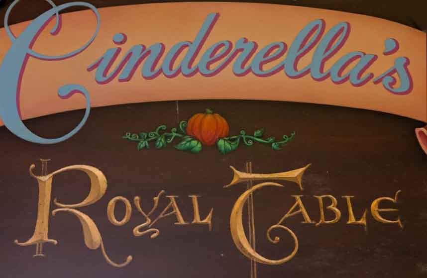 Cinderella S Royal Table Refurbishment Magical Distractions