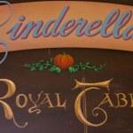 Cinderella's Royal Table Refurbishment