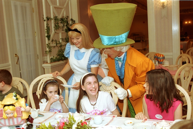 Wonderland Tea Party at 1900 Park Fare, Courtesy of Disney