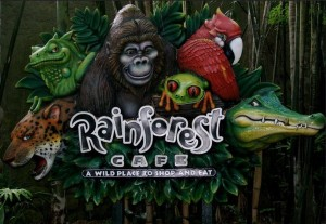 Rainforest Cafe' AK 2