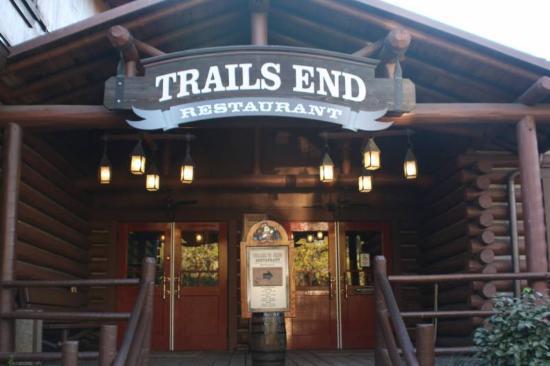 Trails End Restaurant sign