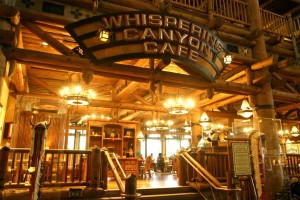 Whispering Canyon Cafe - Photo by Gary Bogdon / Disney