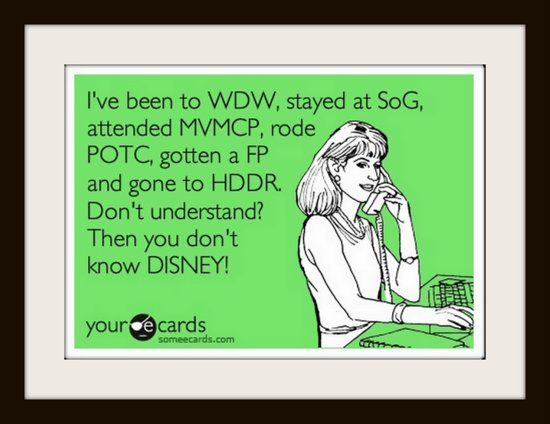 Disney Acronyms