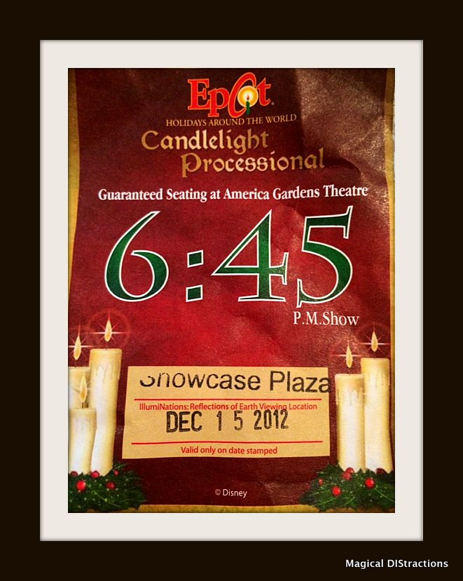 Candlelight Processional Badge