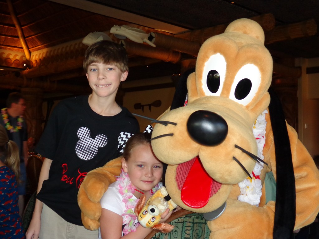 Pluto @ Ohana's Best Friends Breakfast