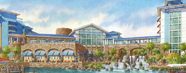 Sapphire Falls - Artwork courtesy of Universal Studios Orlando