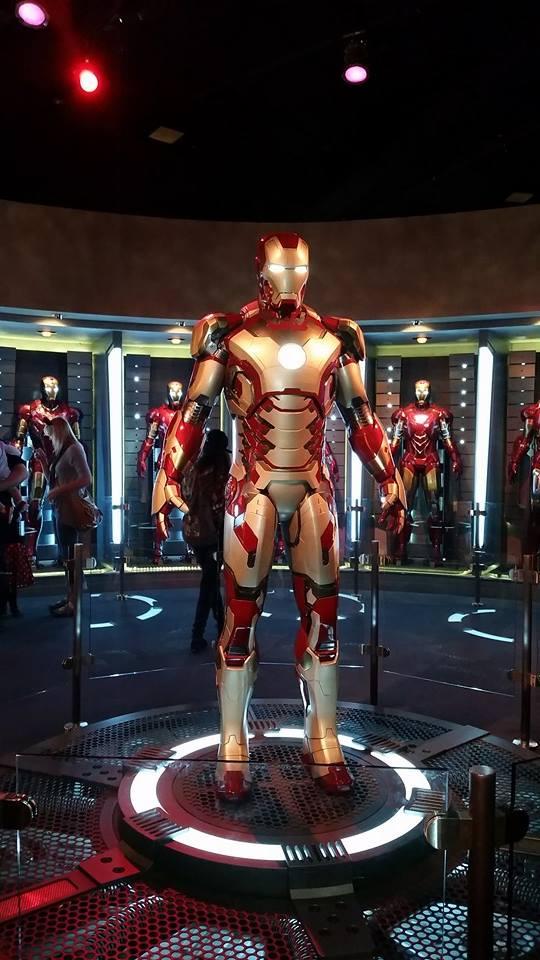 DLR Tony Stark's Hall of Armor