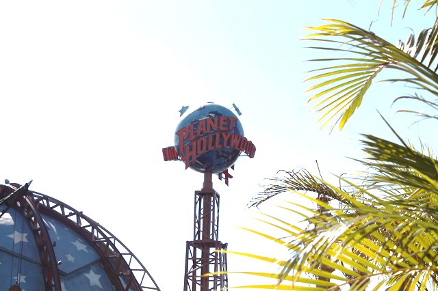 Planet Hollywood - photo by Claudette Edwards
