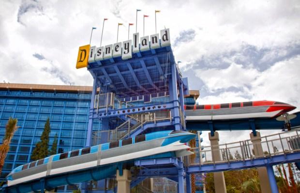 Monorail Slide Pool - Photo by Disney