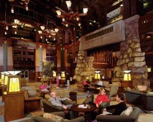 Grand Californian Resort & Spa Lobby -photo by Disney Parks