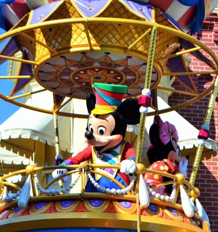 Festival of Fantasy, Mickey and Minnie
