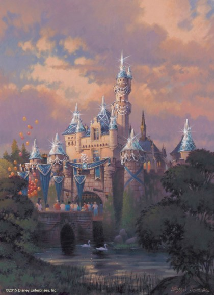Sleeping Beauty Castle Artist Rendering