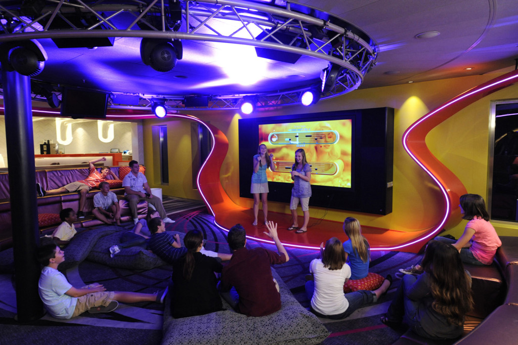 Teens rule at the Vibe on Disney Cruise Line