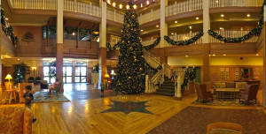 Disney's Vero Beach Resort Lobby Christmas