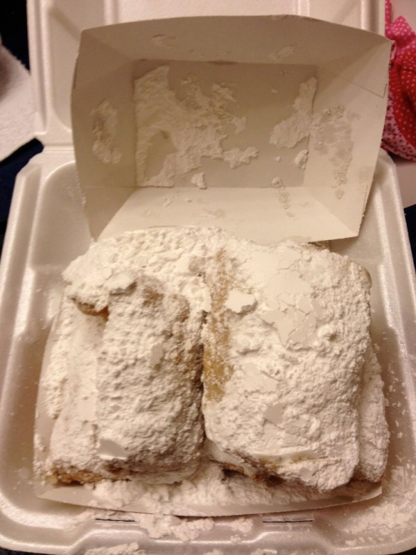 Beignets at Port Orleans French Quarter
