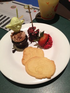 Star Wars Desserts offered at Jedi Mickey's Star Wars Dine at H&V by Breck Short