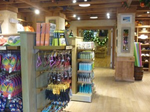 Gift shop at Disney's Vero Beach Resort