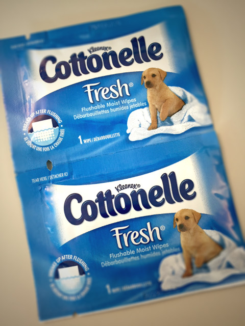 Cottonelle Wipes - travel packs