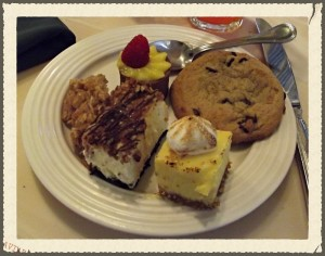 Crystal Palace dessert options - Picture by Lisa McBride