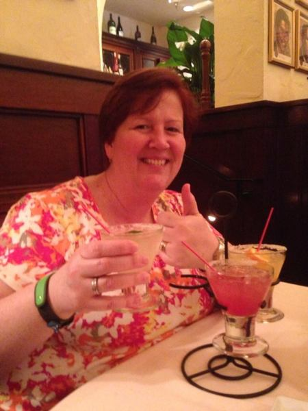 Margarita Flight at Hollywood Brown Derby