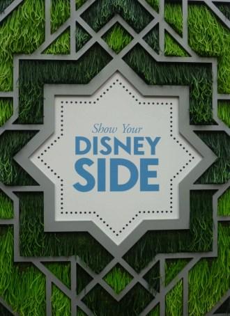 DisneySide sign