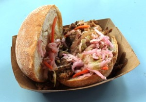 Smokehouse: Pulled Pig Slider